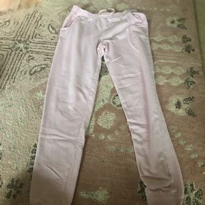 Crazy 8 Kids pink joggers size 14/16
